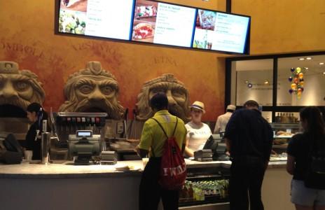 Naples Ristorante e Bar - order counter