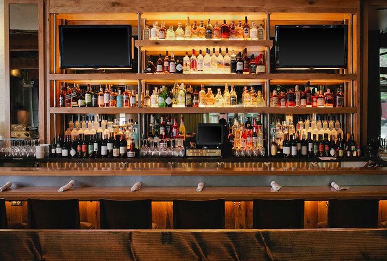 Aloft bar