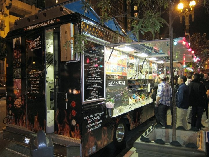 The Food Truck – What Route is It Taking?