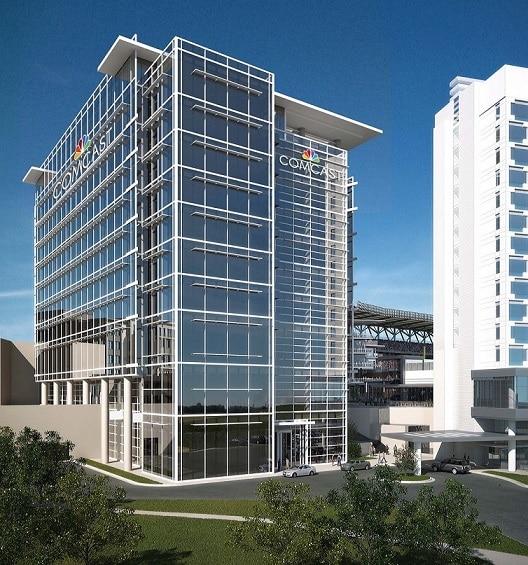Comcast Regional Headquarters | SunTrust Park