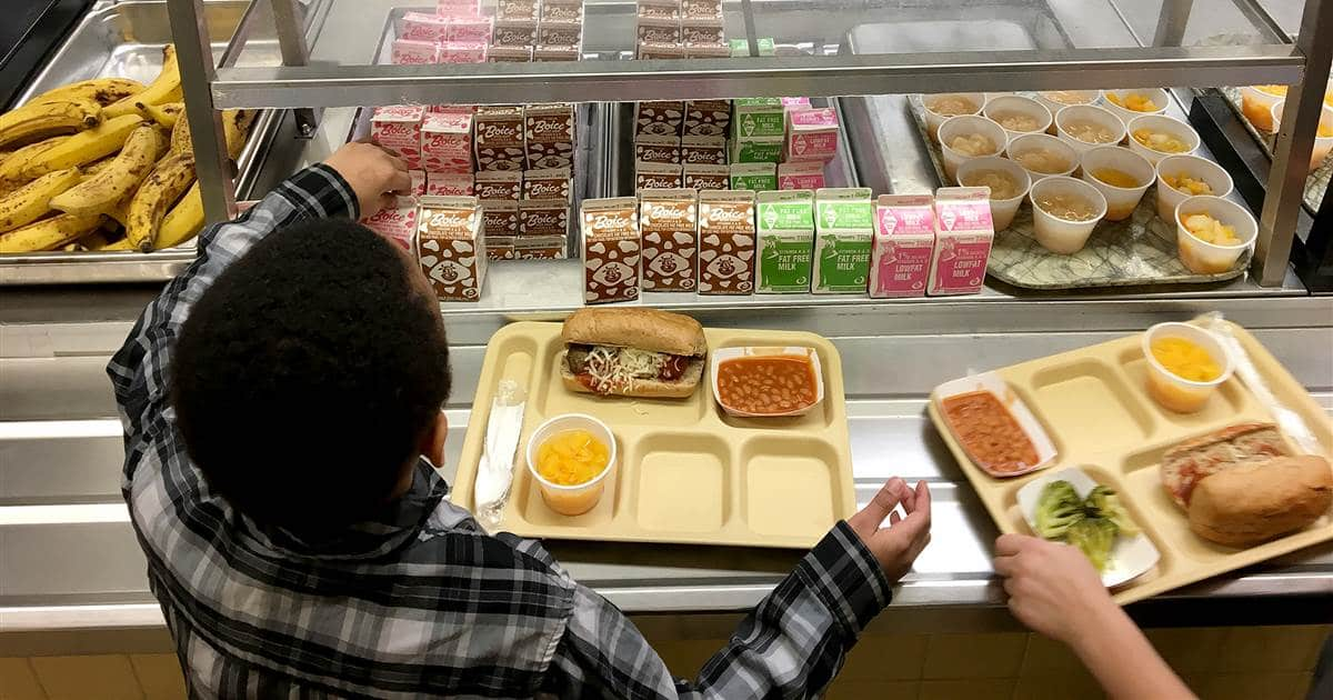 It Could be Wurst: School Lunches Then and Now