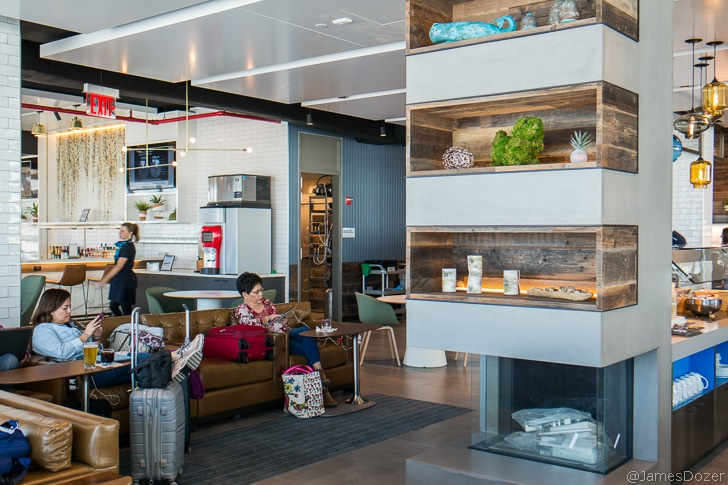 Airline Club Lounges – A Slice of Zen
